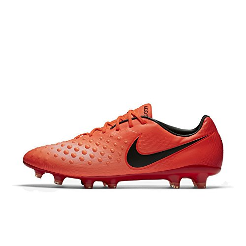 Nike International Magista Opus II FG Größe 7 Rot (Total Crimson/Black-)
