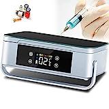 Estuche de Viaje con Enfriador de insulina, Nevera médica portátil, Gran Capacidad y Pantalla LCD Refrigerador pequeño para medicamentos, para insulina y Otros medicamentos,2*Battery