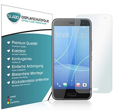 Slabo 4 x Bildschirmschutzfolie für HTC U11 Life Bildschirmfolie Schutzfolie Folie Zubehör Crystal Clear KLAR