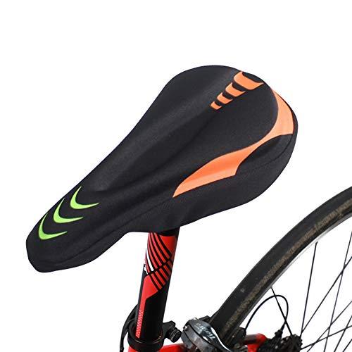 ANTKING Antideslizante engrosado colorido plegable Bicicletas silla cubierta MTB montaña carretera bicicleta comodidad suave asiento cojín cubierta Ciclismo equitación equipo