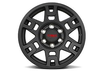 Genuine Toyota 4Runner TRD PRO Matte Black Wheels PTR20-35110-BK  Fits  4Runner - Tacoma - FJ Cruiser   4