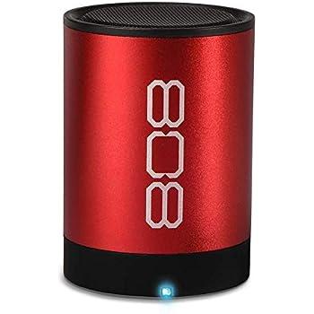 808 Canz 2 Wireless Bluetooth Speaker - Red