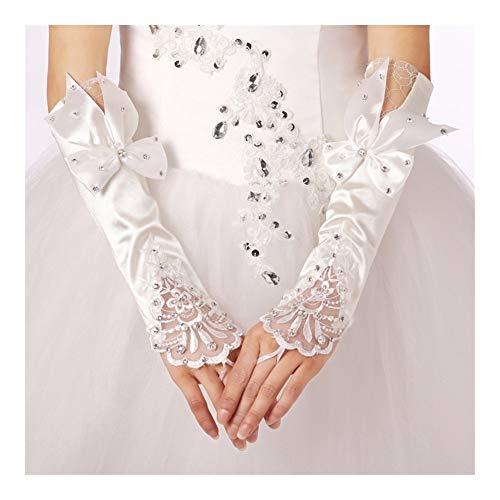 Spitze-Prinzessin Brauthandschuhe mit Brautkleider Handschuhe Hochzeit Accesoties langlebig
