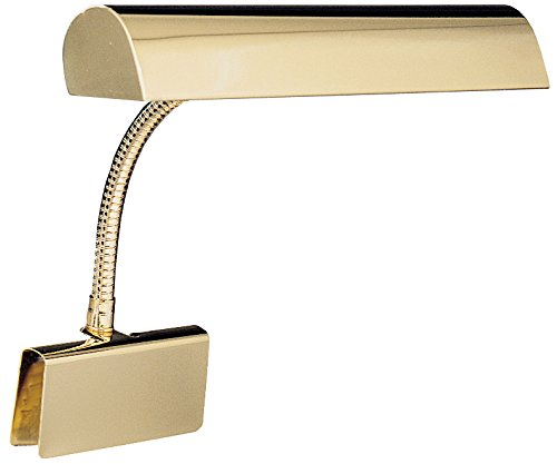 House Of Troy GP14-61 Grand Piano 14' Portable Lamp, Polished Brass