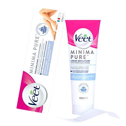 Veet Minima Pure Crème Dépilatoire Peaux Sensibles - Le tube de 100ml