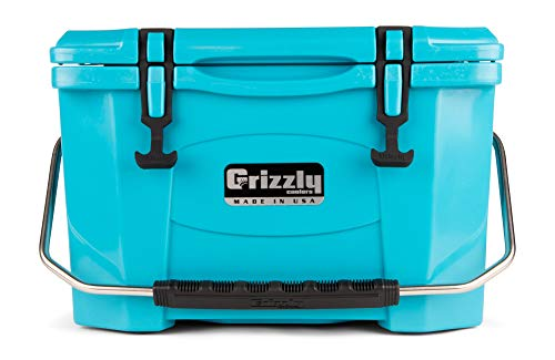 Grizzly 20 Cooler, Teal, G20, 20 QT