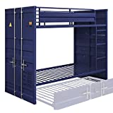 ACME Cargo Bunk Bed (Twin/Twin) - - Blue