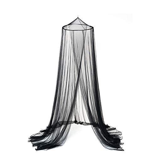 OctoRose Black Hoop New Bed Canopy Mosquito Net/Canopy