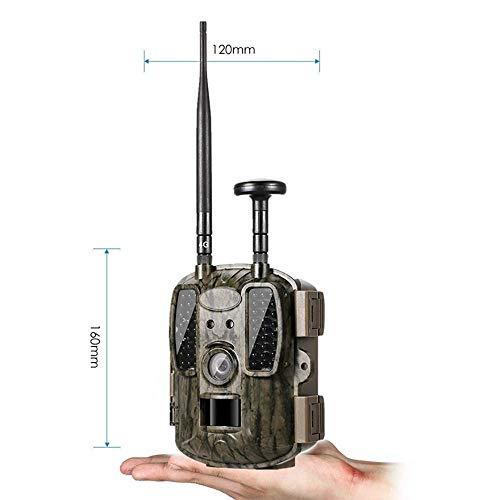 YUN CAMERA@ 4G Infrarot-Überwachungskamera GPS-Positionierung 1600W Wild in voller Größe Jagd Kamera Sicherheit Überwachungskamera