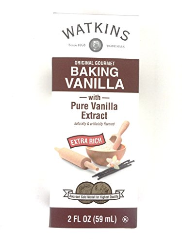 Watkins Extract 2oz Bottle (Pack of 3) Choose Flavor Below (Original Extra Rich Baking Vanilla)