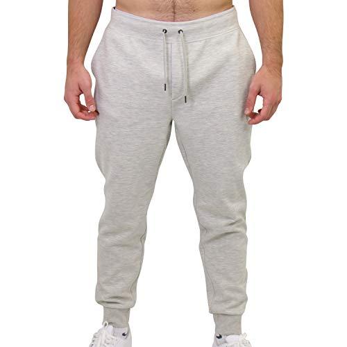 Ralph Lauren Herren Double-Knit Jogginghose Grau XL