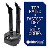 OdorStop Boot and Shoe Dryer and Deodorizer with Heat and High Output - Two Boot (Two Boot)