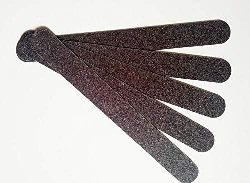 Be super welcome Nail Files Bufers Max 44% OFF 10PCS LOT Sandpaper Wood Buff Black