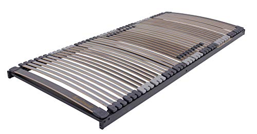 BELARO Lattenrost Multiflex 80x200 cm || Komfortable Unterfederung - besonders geeignet für Seitenschläfer - manuelle Kopf- und Fußteilverstellung