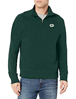 OTS NFL Green Bay Packers Men's Fleece 1/4-Zip Pullover, Logo, X-Large (B073XH158K) | Amazon price tracker / tracking, Amazon price history charts, Amazon price watches, Amazon price drop alerts