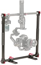 fotowelt Universal U-Type Dual Handle Grip Applicable with Ronin-S, Crane V2,Crane 2, MOZA Air/Air Cross (25mm Pipe)
