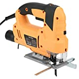 Electric Jigsaw 800W Power Handheld Electric Jig Saw Laser Guide Dust...