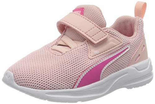 PUMA Unisex Baby Comet 2 FS V Inf Sneaker, Peachskin-Glowing Pink, 23 EU