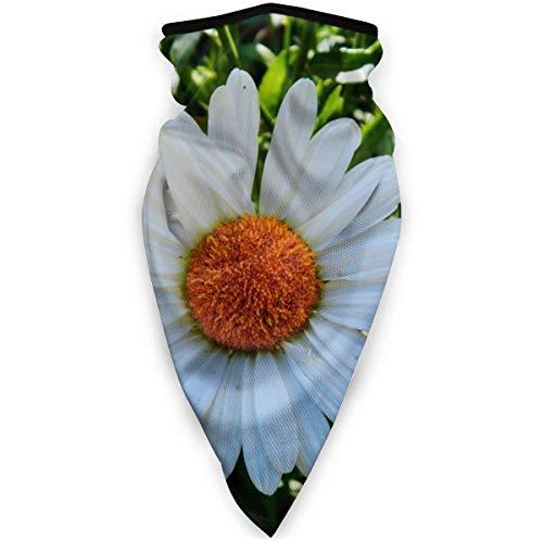 12-in-1 Headwear, margerite-bandana, wit, eenvoudig, gezichtsbescherming, winddicht, sneldrogend, voor wandelen buitenshuis