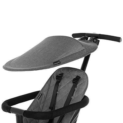 Dream On Me, Coast Rider Stroller Canopy, Gray (364-GRAY)