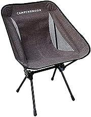 キャンピングムーン(CAMPING MOON) アウトドアチェア ポータブルチェア 椅子 折りたたみ 840Dバリスティックポリエステル・7075超々ジュラルミン製 収納袋付き (F-2001)
