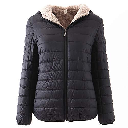 BIXUYAO Vrouwen Puffer Winter Jassen/Korte Alinea Winter Warm Down Jacket Ultra Licht Gewicht Vrije tijd Jassen