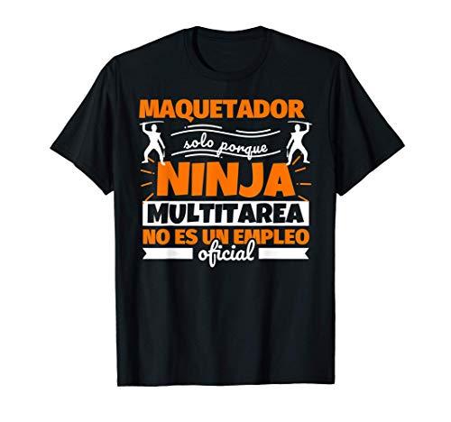 maquetador regalo divertido ninja Camiseta