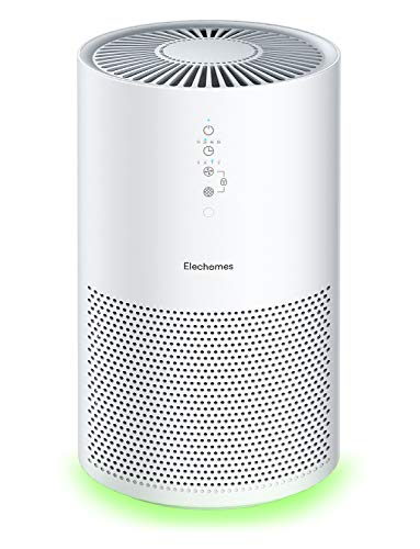 Elechomes EPI236 Air Purifier for Large Room with True H13 HEPA Filter, 22dB Quiet Air Cleaner for...