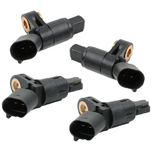 ECD Germany RS001 + RS002 + 2 x RS003 ABS Sensor Drehzahlfühler Raddrehzahl Raddrehzahlsensor hinten + vorne