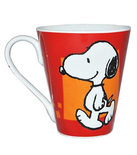 alles-meine.de GmbH Henkeltasse groß -  Hund Snoopy - Peanuts  - Porzellan / Keramik - Trinktasse mit Henkel Tasse Becher - Porzellantasse - Kaffeebecher - Tassen für Kinder Mä..