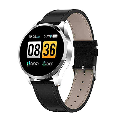 OLUYNG Reloj de Pulsera Newwear Q9 Smart Watch Hombres Mujeres IP67 Impermeable HR Sensor Monitor de presión Arterial Moda Fitness Tracker Smartwatch Reloje