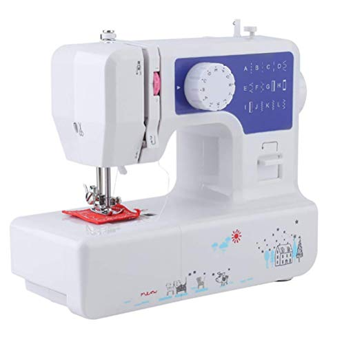 Review Of WANGLXST 12 Stitch Multi-Function Sewing Machine, Household Sewing Machine, Electric Portable Sewing Machine,Double-line Two-Speed Reverse Stitch, Pedal, White