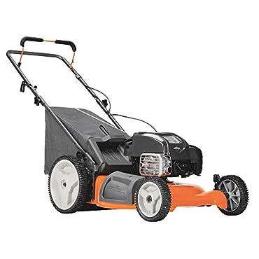 Husqvarna 7021P 961330030 3-In-1 Push Lawn Mower, High-Wheel, 160cc Honda Engine, 21-In