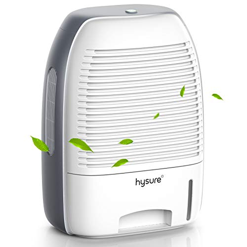 Hysure Dehumidifier for Home 250 sq ft with 52oz(1500ml) Capacity Dehumidifier for Bedroom, Bathroom, RV, Baby Room