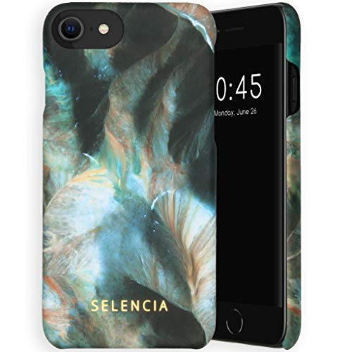 Selencia - Carcasa rígida para iPhone 6/6S/7/8/SE 2020, diseño de Maya Fashion Back Cover Case – Carcasa rígida en Nepal [mate, fina y compatible con Qi]