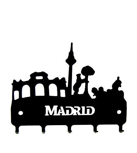 ZiNGS Cuelga llaves de forja Siluetas Madrid
