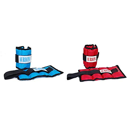 Aurion Wrist Weights 1 Kg x 2 Total 2 kg Home Gym...