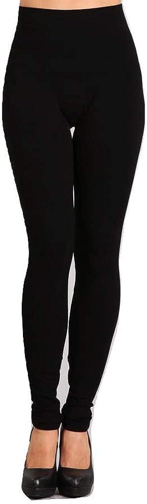 m. rena Tummy Tuck Seamless Rayon Ankle Leggings