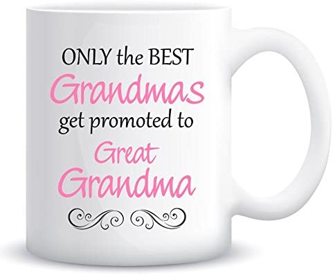 ONLY THE BEST DADS GET PROMOTED TO GRANDAD Coffee Tea Mugs Mug Cup Gift Present