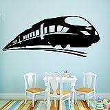 Funny Train Familia Pegatinas de Pared Arte Mural Decoración para el Hogar...