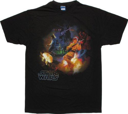 Star Wars Rock Band T-Shirt Sheer Small