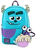 Loungefly Disney Sully with Boo Pouch Cosplay Womens Double Strap Shoulder Bag Purse