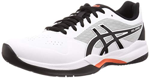 Asics Gel-Game 7, Zapatillas de Tenis para Hombre, Blanco (White/Black 105), 42.5...