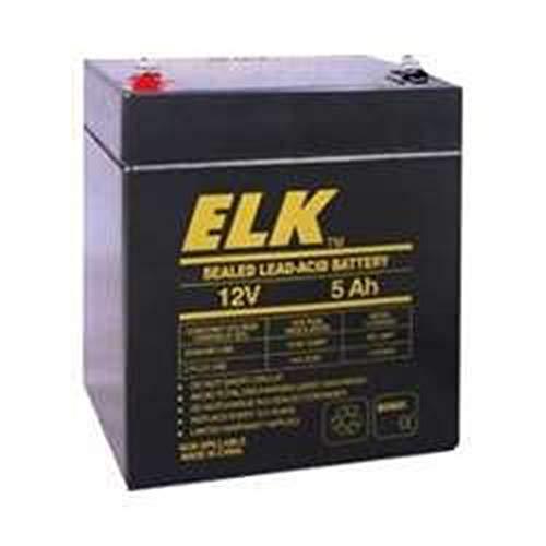 ELK Products 12 Volt 5 Ah Rechargeable Battery