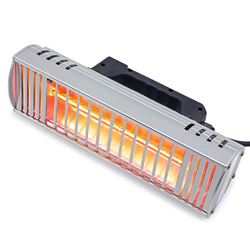 N\C 1000 W Hornear Pintura infrarroja Curado Lámpara de onda corta Secador infrarrojo Calentador de lámpara de calefacción infrarroja del coche reparación del cuerpo Secador de pintura (220 V UE)