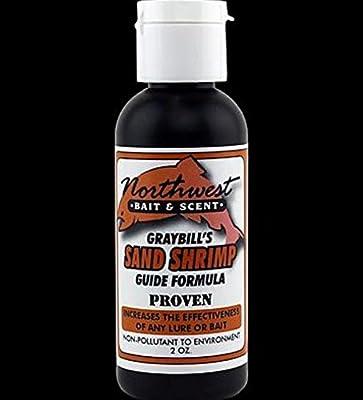 Graybill's Northwest Bait & Scent Guide Formula Sand Shrimp 2 Ounce Bottle