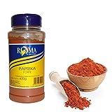 400 g polvo de paprika fuerte en dispensador para ensaladas verdes, salsas y minerales
