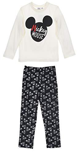 Mickey Mouse Jungen Lang Pyjama Schlafanzug