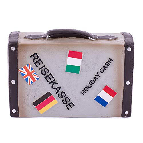 pajoma Spardose Reisekasse \'\'Travel The World\'\' aus Polyresin