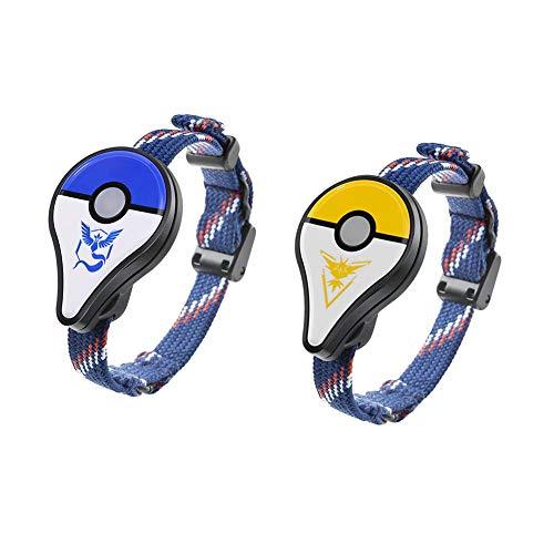 occitop 2pcs para Pokemon GO Plus Bluetooth Pulsera para Juguetes interactivos de Nintendo